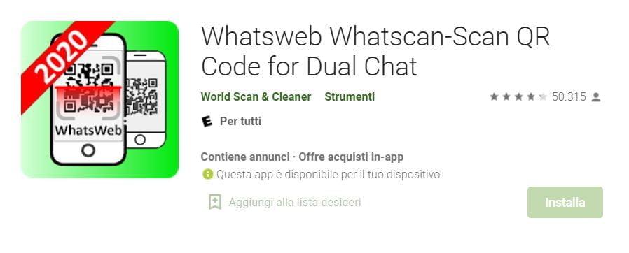 app per scoprire tradimenti su whatsapp