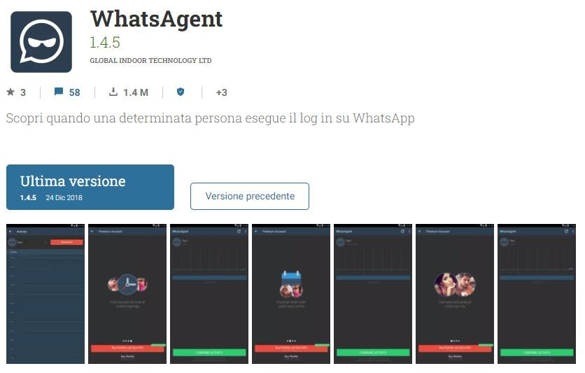 spiare un account whatsapp whatsagent